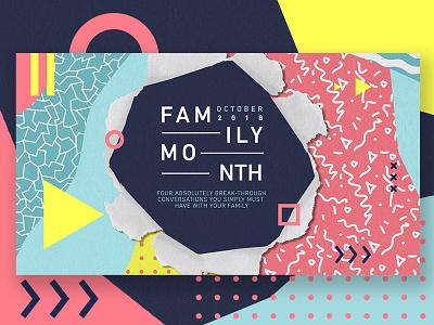 South Hills Family Month design ux wordpress html css web design