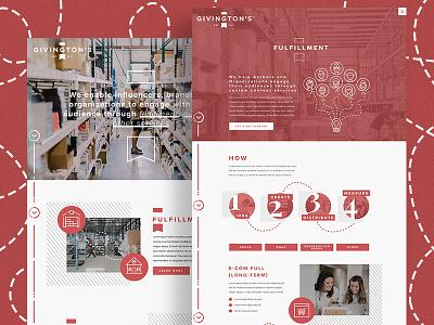 Givington's sketch app ux adobe photoshop web design