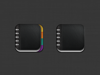 Icons for iPad App