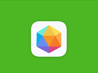 Rubik's Cube theme