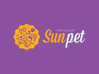 Sun pet - logo