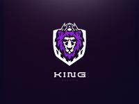 King Esports // Mascot Logo Design