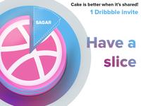 Dribbble Invite Sagar