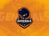 Generals Mascot Logo