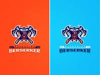 Asgardian Berserker Mascot Logo