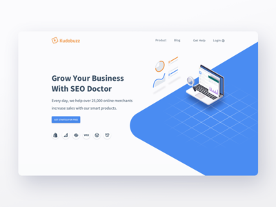 Kudobuzz - Seodoctor Page Concept