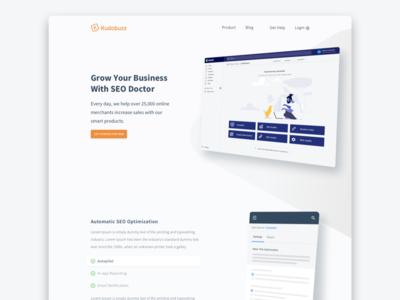 Kudobuz Seodoctor Page Concept