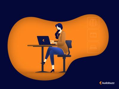 Lady - Online Entrepreneur