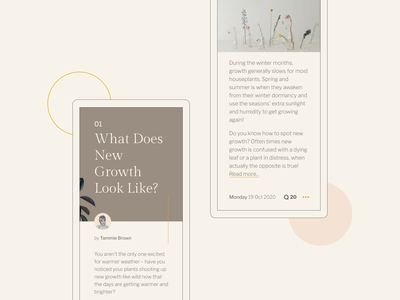 Frontloops #7 Mobile layout article article design