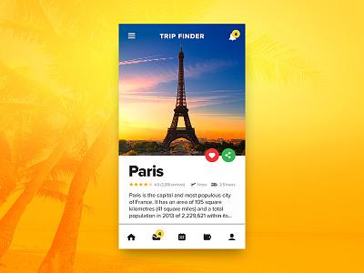 Mobile Travel Dashboard UI world vacation ui travel profile new york mobile ios globe flight dashboard cards