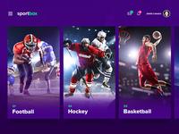 Sports Selector UI