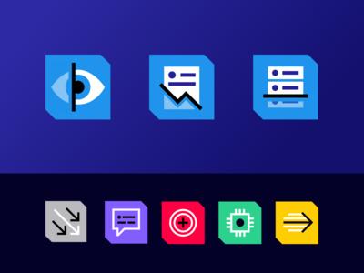 Icons for Merlon Intelligence