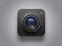 Camera lens-icon