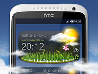 Weather Through Appwidget