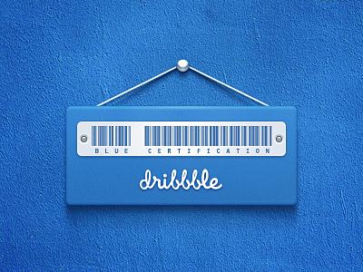 Blue Certification Dribbble blue certification dribbble listed bar code stainless steel leef