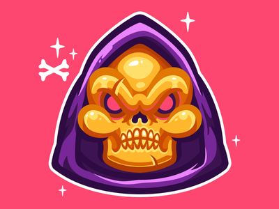 Skeletor! Sweet as Candy hood funny color skull he-man heman vector skeletor