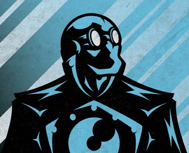 Lobster Johnson illustration