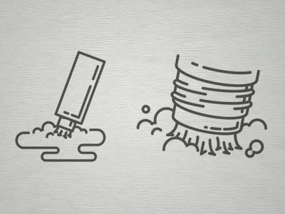 Spot Cleaner Packaging Illustrations illustration