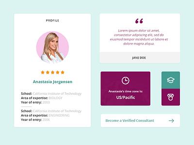 UI elements web design interface ui