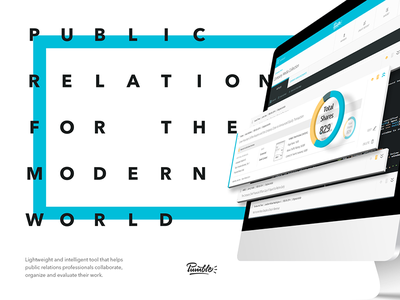 Pumble's Promo Materials  software public relations interface promo