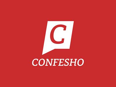 Confesho  branding design confession logo
