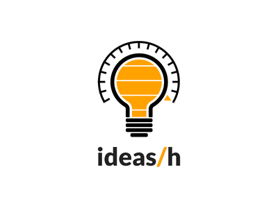 Running on great ideas design light bulb illustration ideas