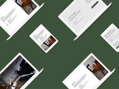 London Ledge - Behance Case Study logo design branding web design furniture case study