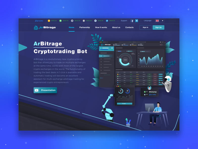 Lead Gen Landing Page For Crypto Fintech Trading Platform trading web design investment extej blockchain payment finance fintech crypto ux ui landing page ui landing page landing lead page