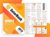 White Paper Design and Branding for Fintech Startup