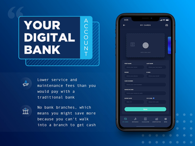 Personal account & Finance dashboard mobile app interface design bank app dashboard app dashboard mobile app experience mobile app design profile screen profile mobile design profile ui user profile ux personal account account page user profile mobile animation credit card payment gateway payment app payment banking fintech finance