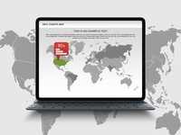 World Map Infographics for Presentations