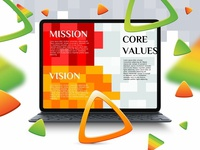 Vision Mission and Core Values Presentation Template