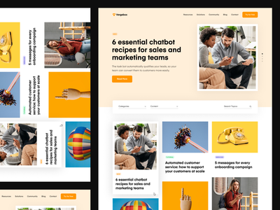 Vergebox - Resources Page clean saas landing page knowledge base resources website web design ux design ux ui design ui typography product design mobile ios interface design illustration icon branding app