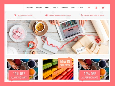 eCommerce Design craft magento ecommerce