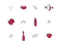 Modern Muah Icons