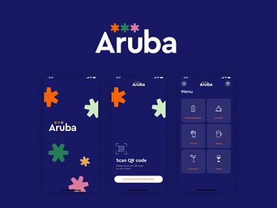 Aruba Beach Bar - Mobile App app branding mobile ios app  design ui ux ux ui