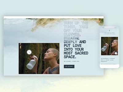 Fresh smells hoover loop mobile ecommerce webshop shop video