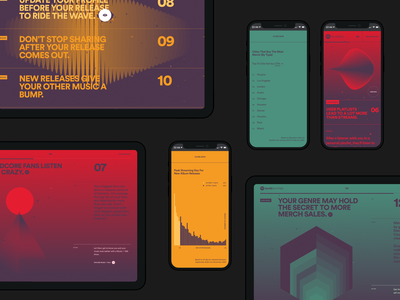 Site of the Month Nominee; Fan Study, Spotify for Artists data analytics data infographics motion design mobile website animation webgl