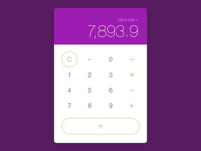 Revised Modern Calculator