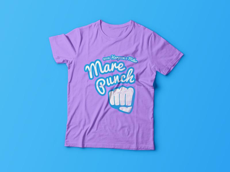 Mare Punch Shirt 5k shirt design tee shirt tee