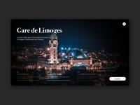 Limoges railway station