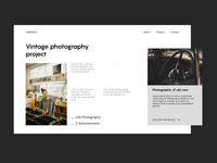 Andrew landing page