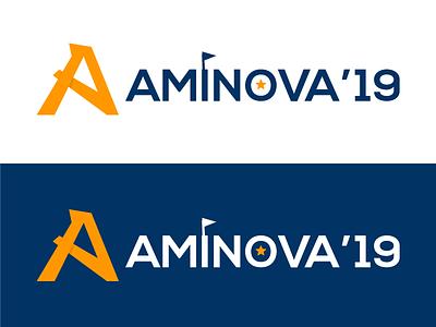 Aminova logo vector illustration aminova amity mumbai amity college fest an a 2019