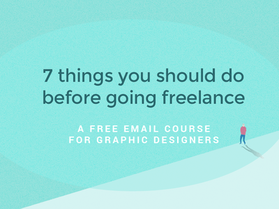 7 Things You Should Do Before Going Freelance freelance email man animation
