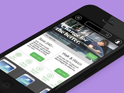 Salt.ch mobile responsive app switzerland telecoms