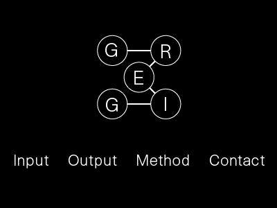 GREIG logo brand website mockup