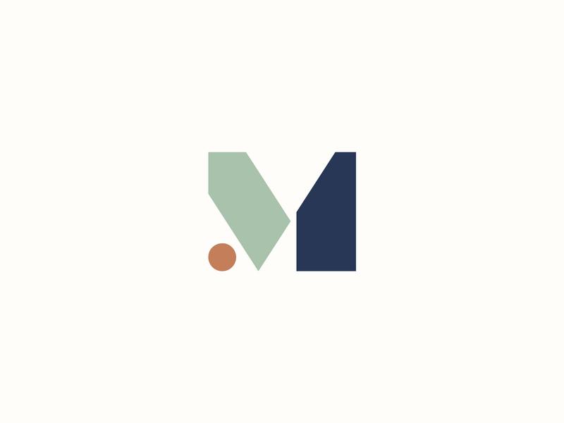 Mosaic Final Identity mark m brand mosaic logo branding