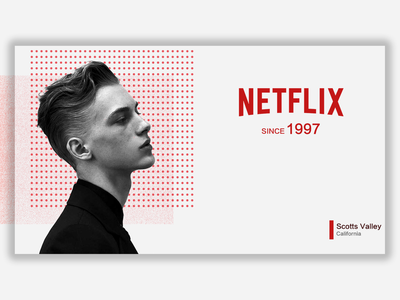 Netflix Poster branding fashion poster
