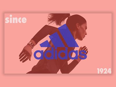 Adidas Poster fashion branding poster