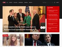 CNN Homepage Redesign